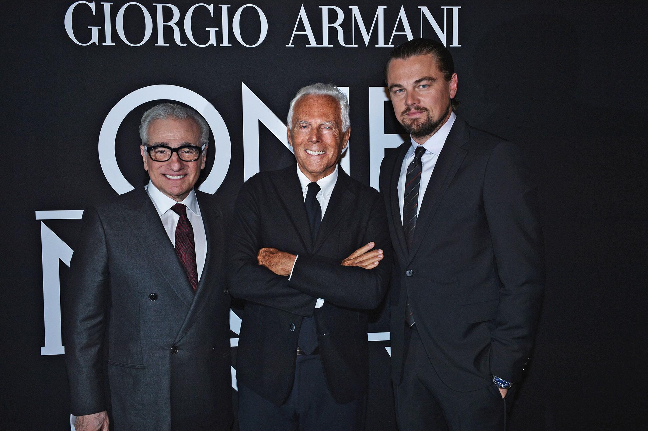 Una notte a New York con Giorgio Armani (FOTO)