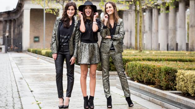 Patrizia Pepe presenta gli abiti lucenti della collezione #Goldenized