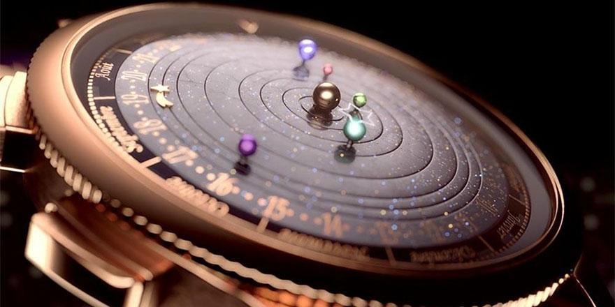 """L'orologio """"astronomico"""" che mostra i movimenti del sistema solare (VIDEO)"""