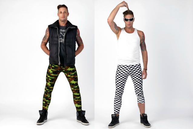 Meggings: la nuova moda dei leggings da uomo