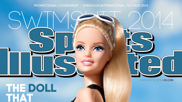 Barbie in costume sulla copertina di Sports Illustrated (VIDEO)
