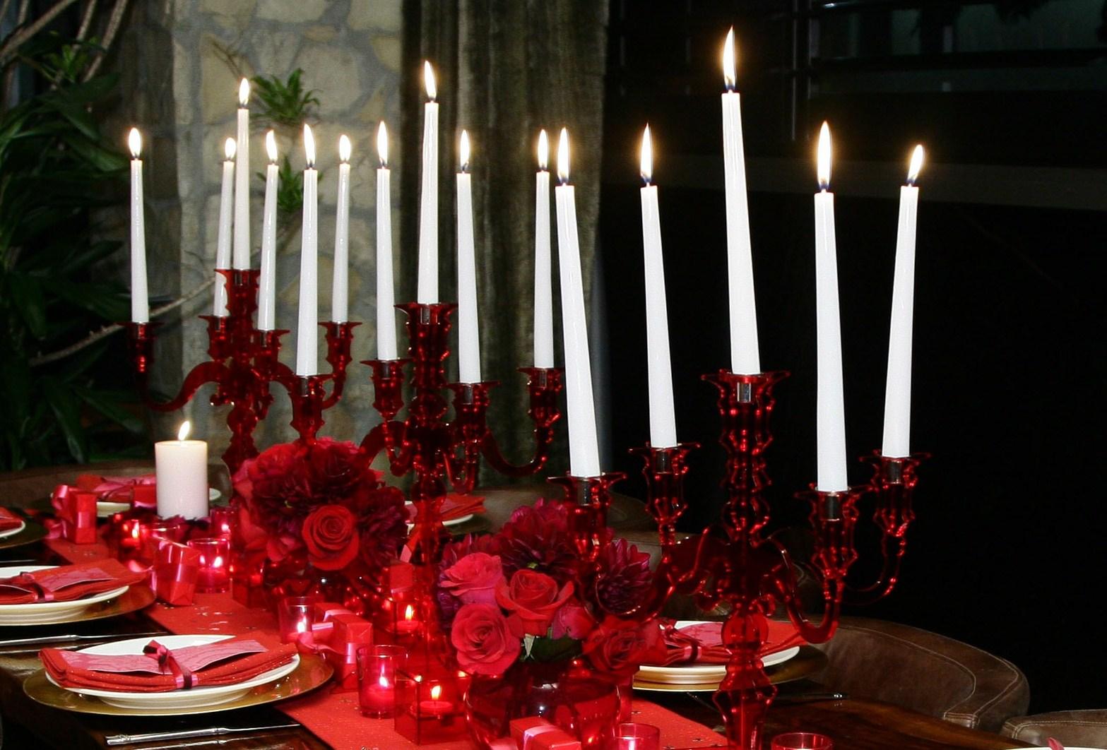 Le cene a lume di candela fanno bene allo spirito ma anche alla salute del cuore