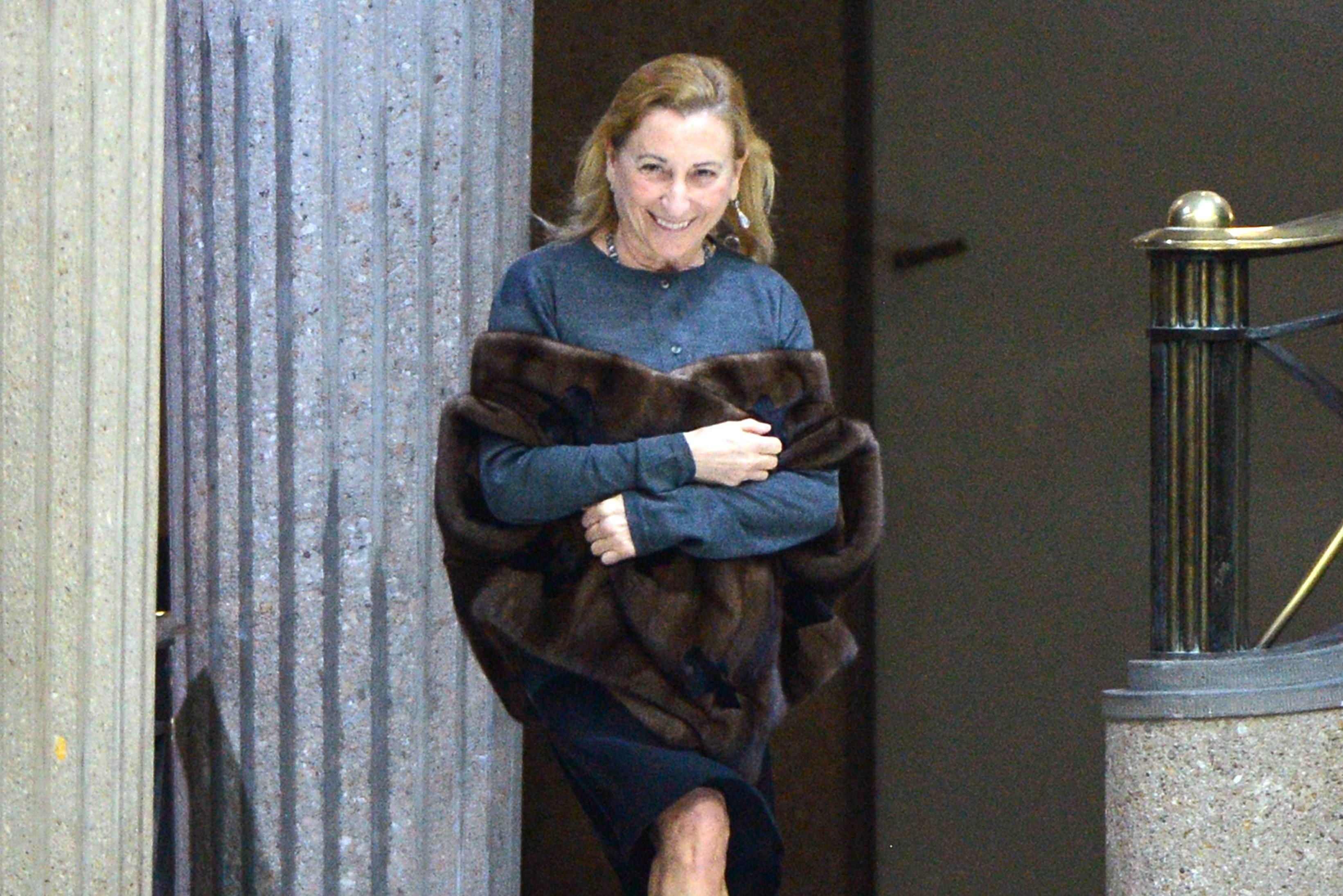 Miuccia Prada lascia la presidenza del gruppo