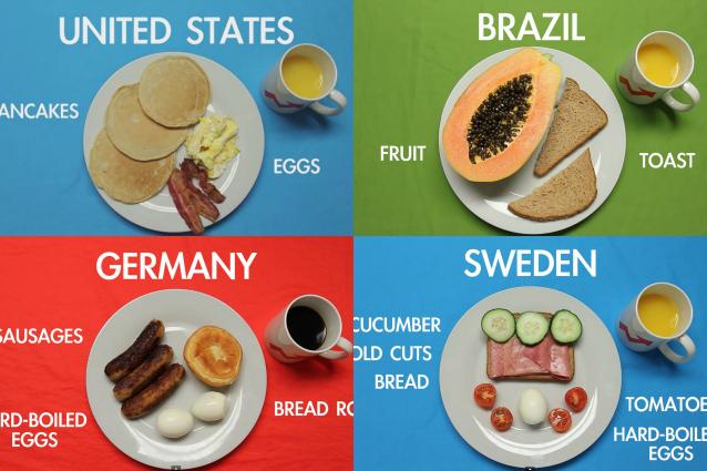 Cosa si mangia nel mondo a colazione? (VIDEO)