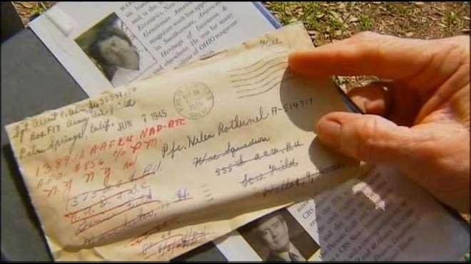 Trova una lettera d'amore di 70 anni fa inviata da un sergente alla sua amata