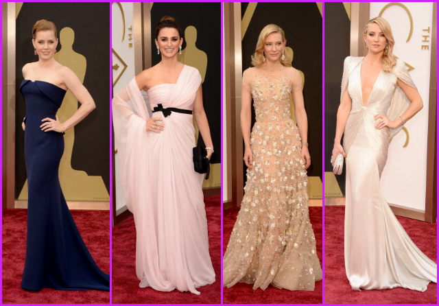 Oscar 2014: diamo i voti ai look delle star sul red carpet (FOTO)