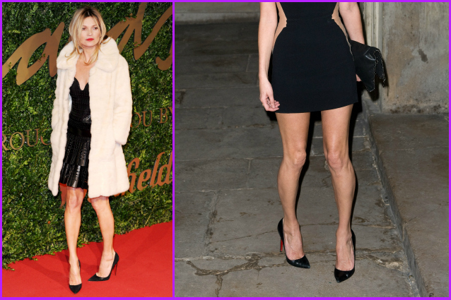 """Ho le gambe storte"": Kate Moss rivela il suo complesso"