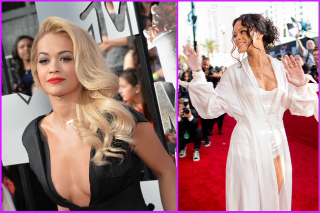 Dalla vestaglia di Rihanna alla scollatura hot di Rita Ora: diamo i voti ai look degli MTV Movie Awards 2014 (FOTO)