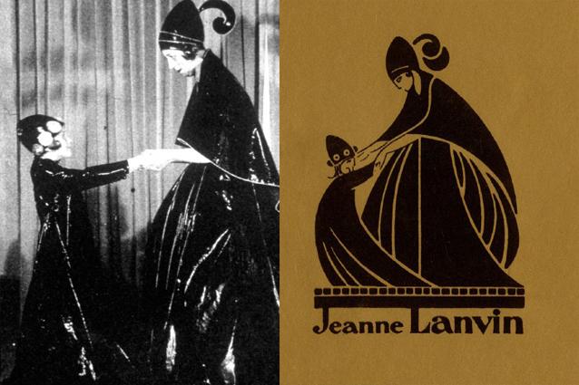 Lanvin, storia di un logo: come l'amore di una madre per la figlia è divenuto il simbolo della maison