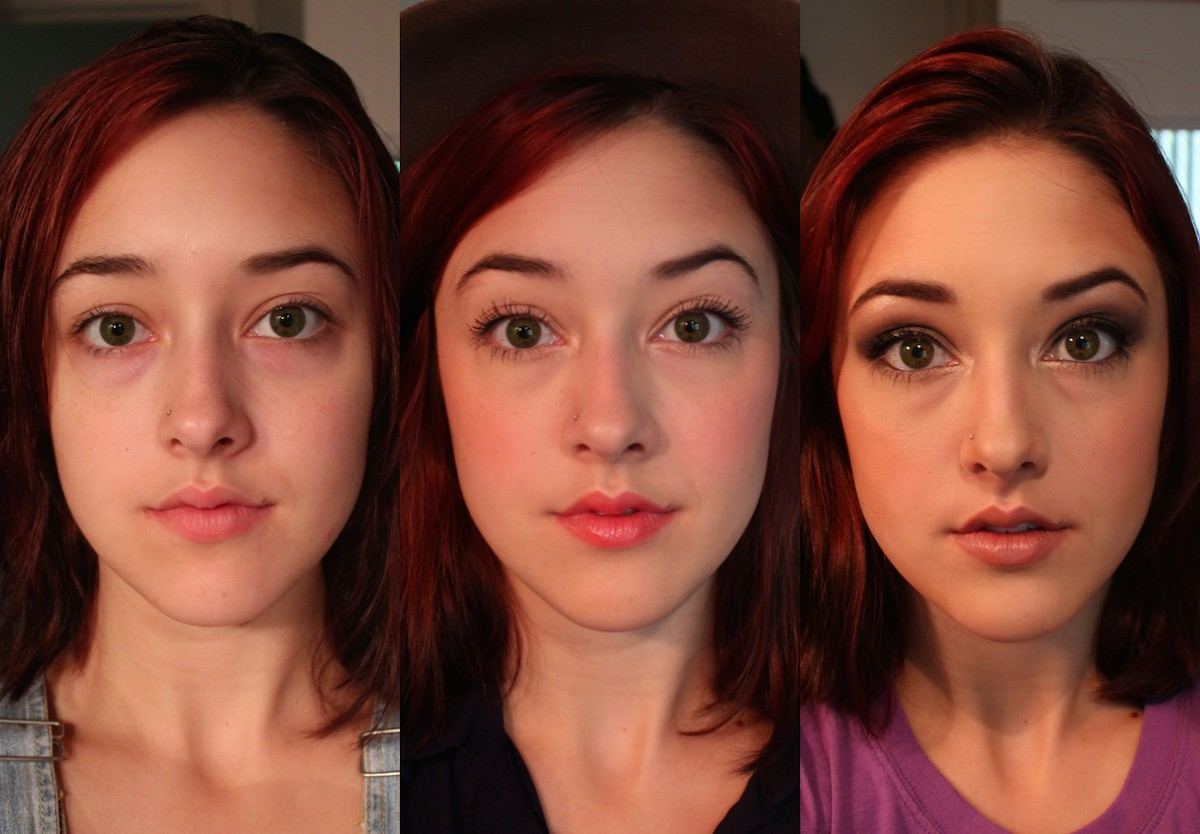 Come reagisce la gente a tre diversi tipi di trucco? L'esperimento di una studentessa  (FOTO)