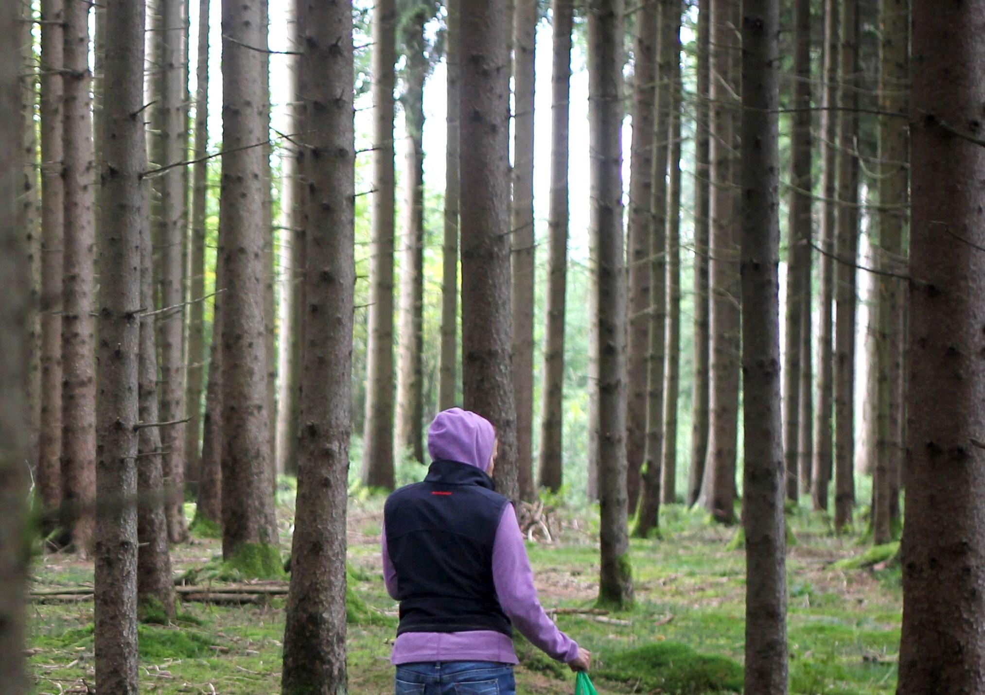 L'incredibile storia di Claire che ha abbandonato la città per vivere nella foresta