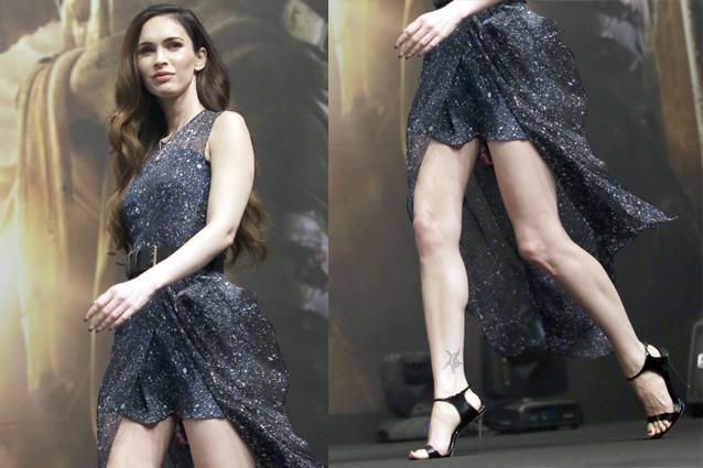 """Megan Fox, sexy trasparenze e gambe in mostra per il lancio di """"Tartarughe Ninja"""""""