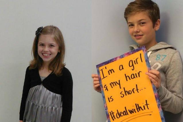 A 10 anni dona i capelli ai malati di cancro e diventa vittima di bullismo