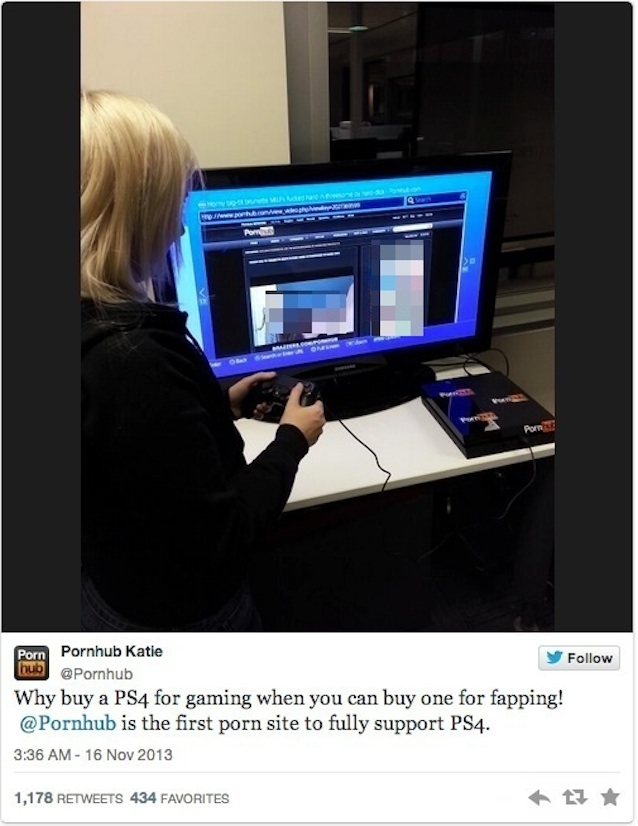 Porn on ps3 web browser