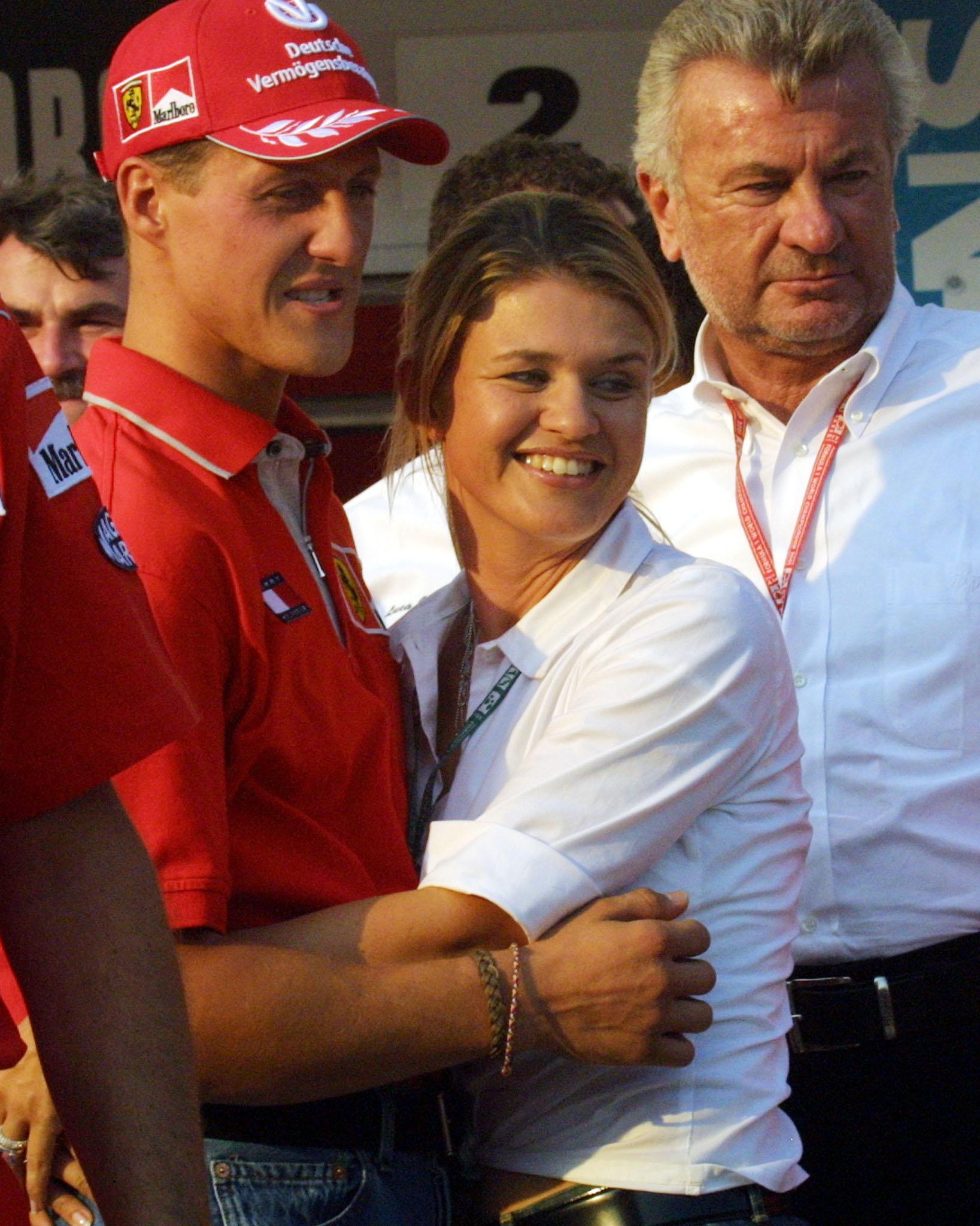 Corinna Betsch, moglie di Schumacher