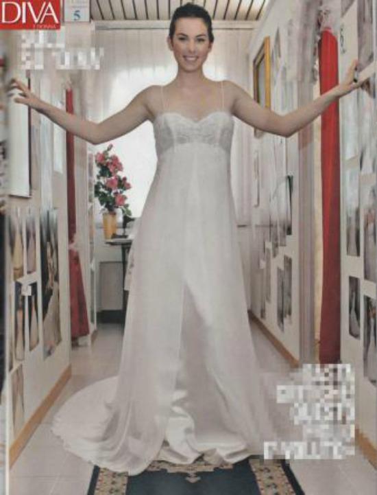 Micol Azzurro Matrimonio : Micol olivieri sposa con il pancione le mie nozze