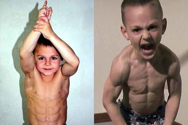 Giuliano e Claudio sono i fratellini più forti del mondo (FOTO)