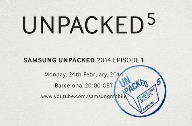 Il Galaxy S5 sarà presentato il 24 febbraio a Barcellona