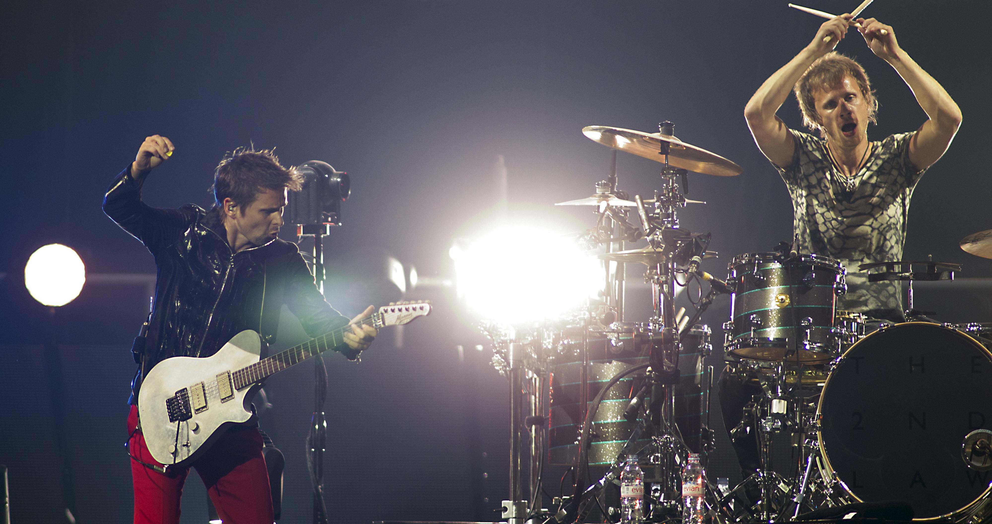 Muse: in 60 mila per il concerto all'Olimpico di Roma
