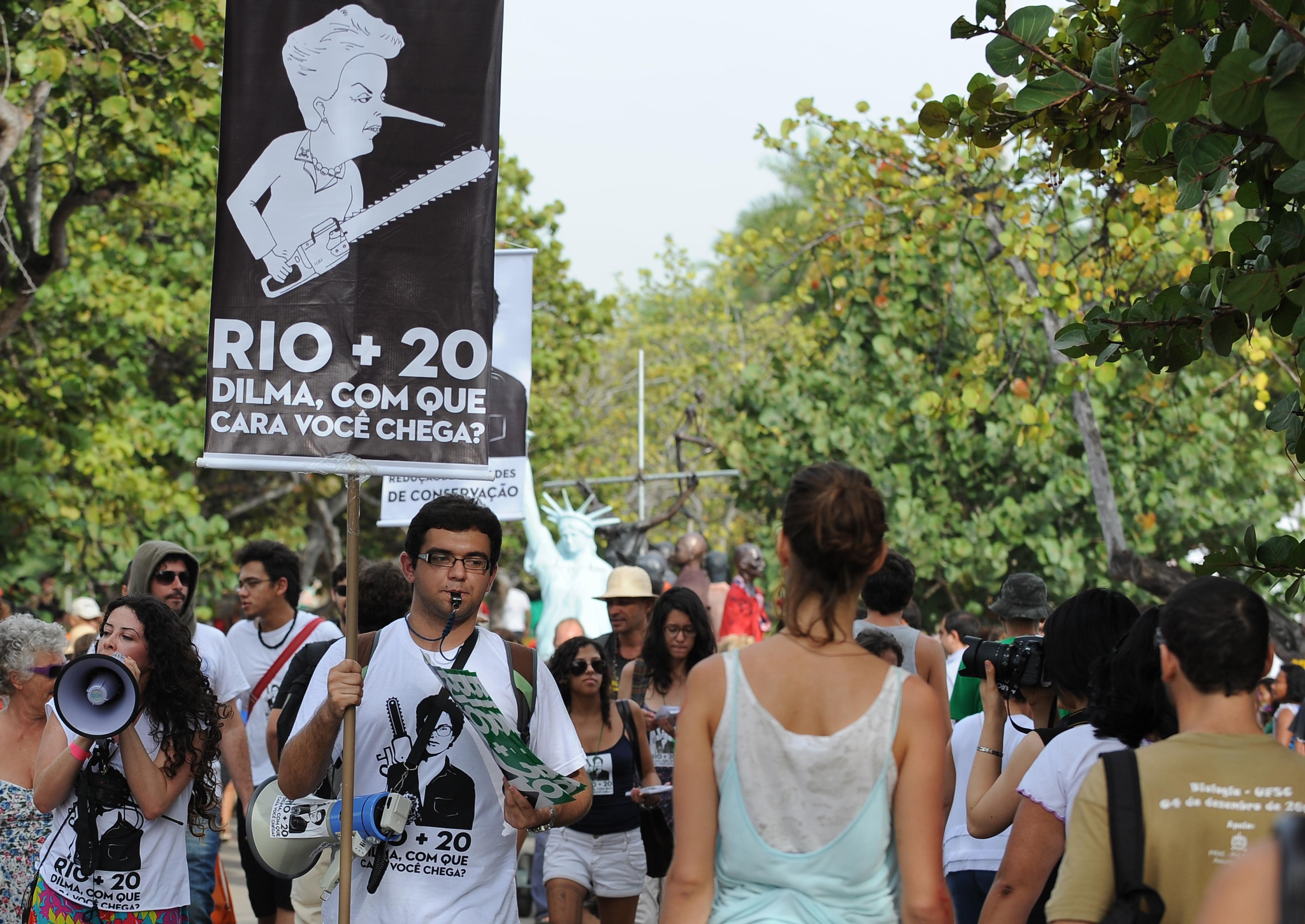 """Rio la bozza del """"futuro che vogliamo"""""""