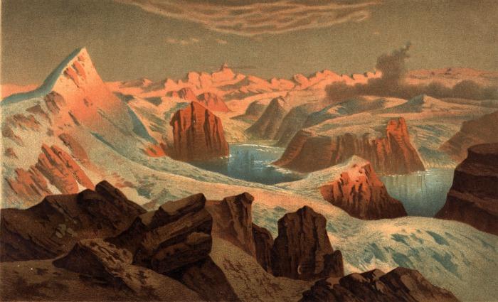 In Groenlandia è record per lo scioglimento dei ghiacci