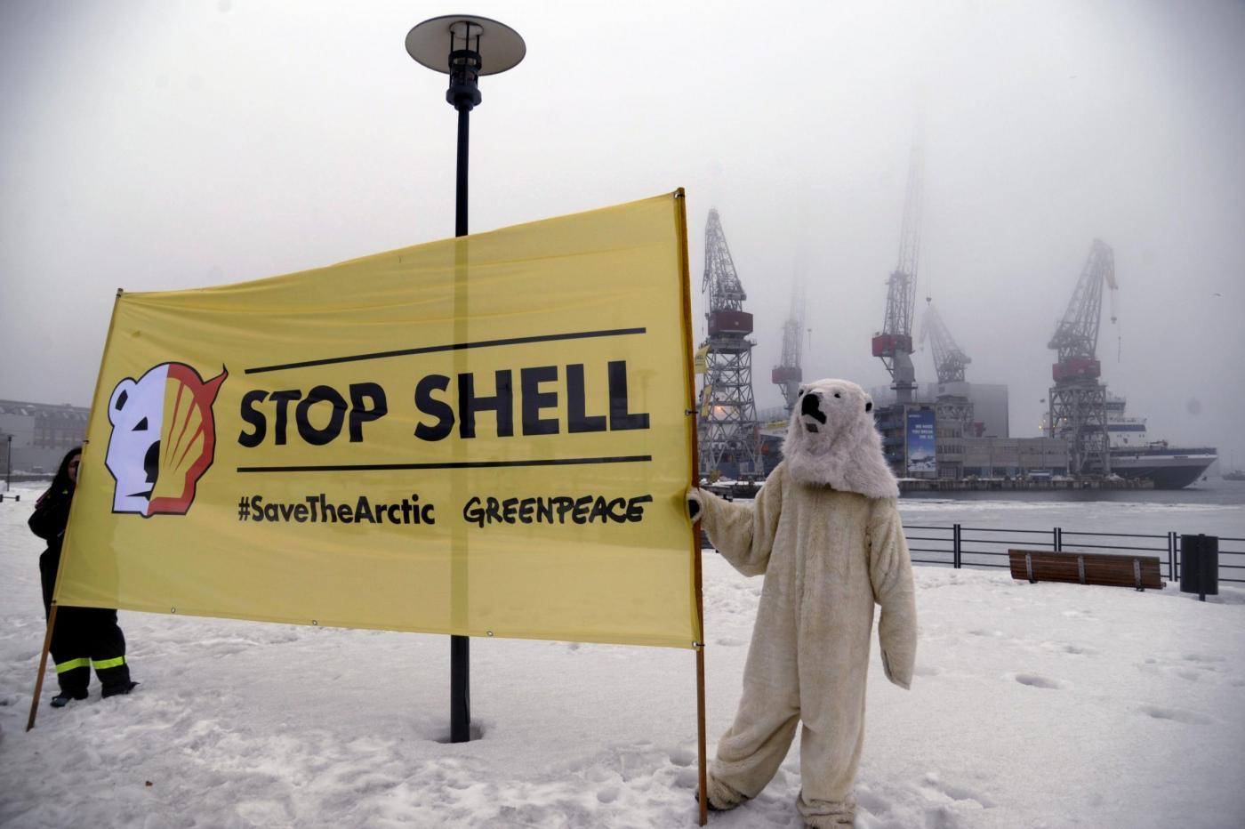 Shell ferma le trivelle nell'Artico (per il momento)