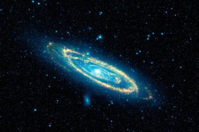 Andromeda e il famelico buco nero
