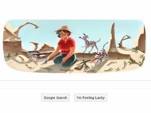 Tanti auguri da Google a Mary Leakey