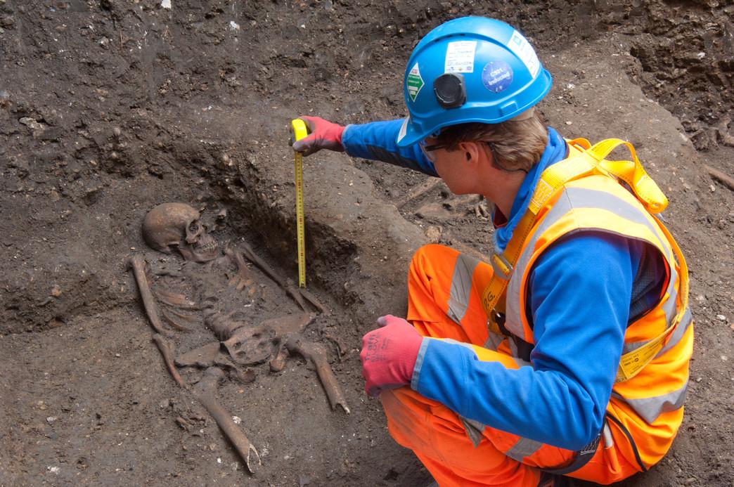 Nei 13 scheletri di Londra il ricordo della Peste nera