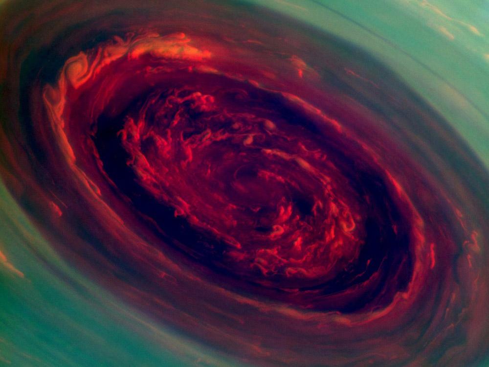 La Nasa fotografa il gigantesco uragano di Saturno (FOTOGALLERY)