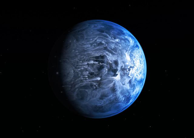 Il pianeta blu come la Terra