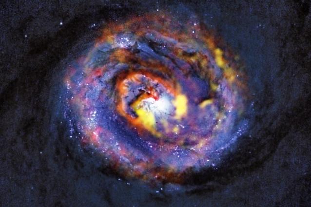 Buchi neri supermassicci nell'occhio di ALMA (VIDEO/FOTO)