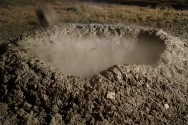 Emergenza CO2 per il vulcano di fango di Fiumicino