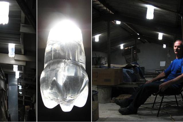 La lampada ad acqua che non vuole elettricità (VIDEO)