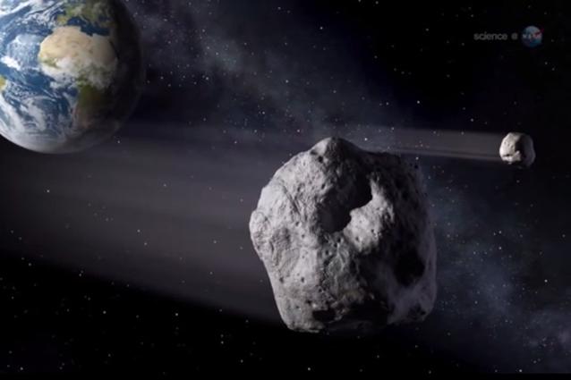 Domenica 7 settembre l'asteroide 2014 RC passerà vicino alla Terra