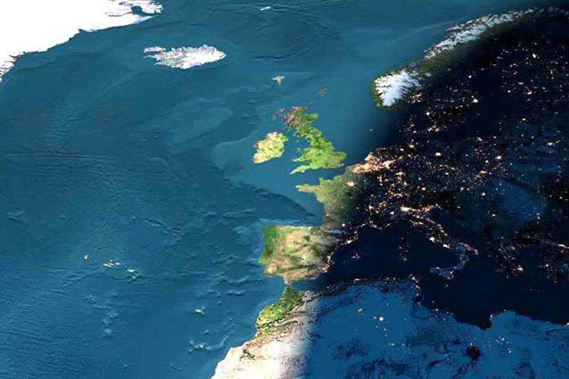 Nelle profondità della Terra un oceano 10 volte più grande del Pacifico