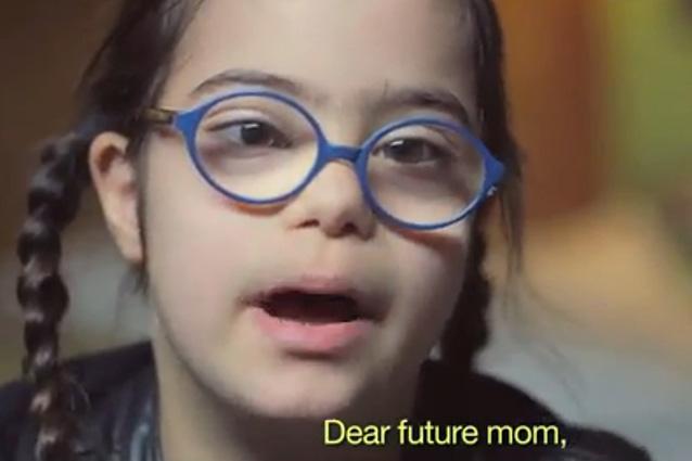 """""""Cara futura mamma"""", la video-lettera dei bambini con Sindrome di Down"""