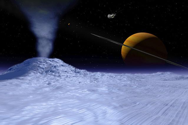 Vita possibile sulla luna di Saturno (VIDEO)