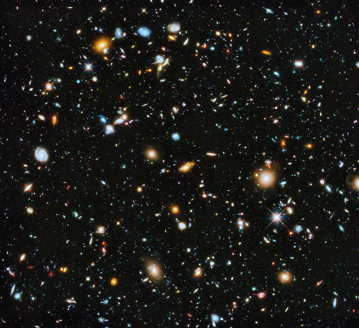 La foto più bella dell'Universo ci è stata spedita dal telescopio Hubble