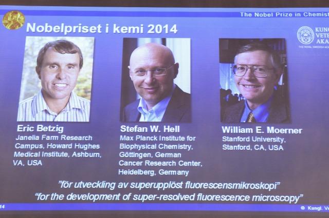 """Il Nobel per la chimica agli inventori dei """"super-microscopi"""""""