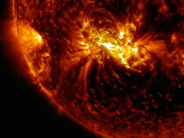 Sul Sole c'è una macchia gigantesca