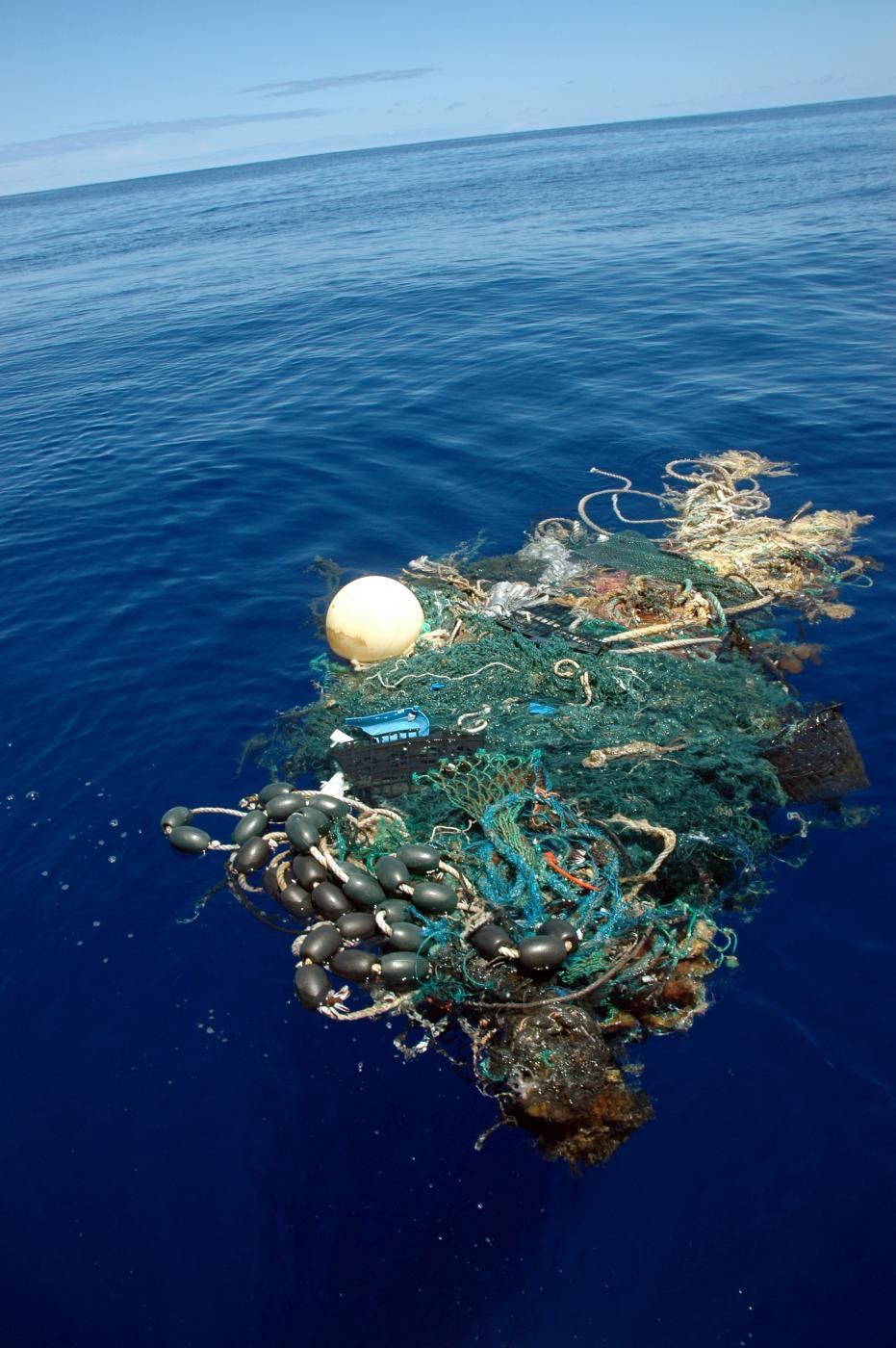 L'isola fatta di spazzatura
