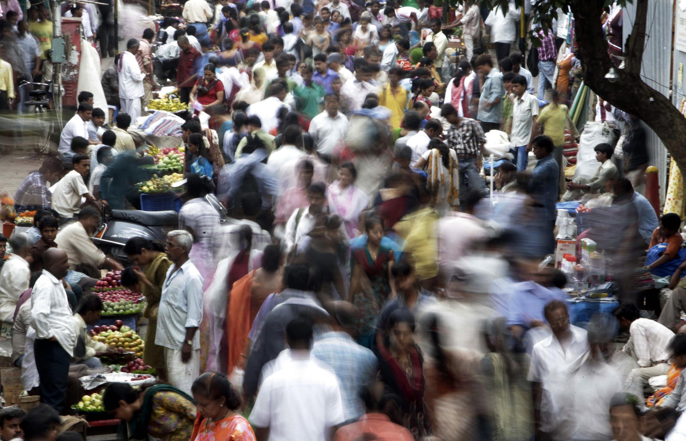 Sempre più stretti: l'umanità sfonda quota 7 miliardi