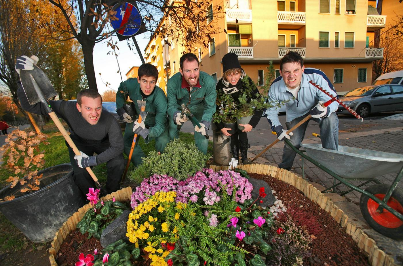 Guerrilla Gardening: al via, il 4 novembre, il primo attacco verde