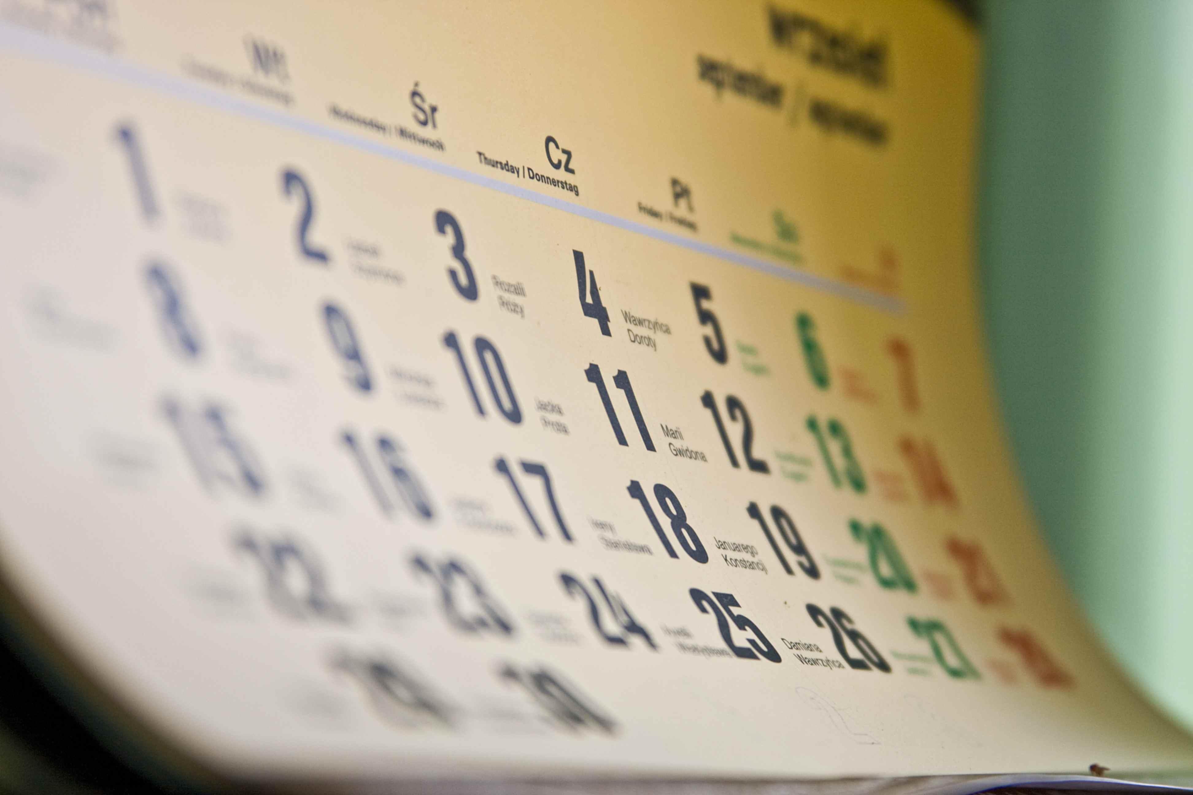 Tempo di cambiare (radicalmente) il nostro calendario