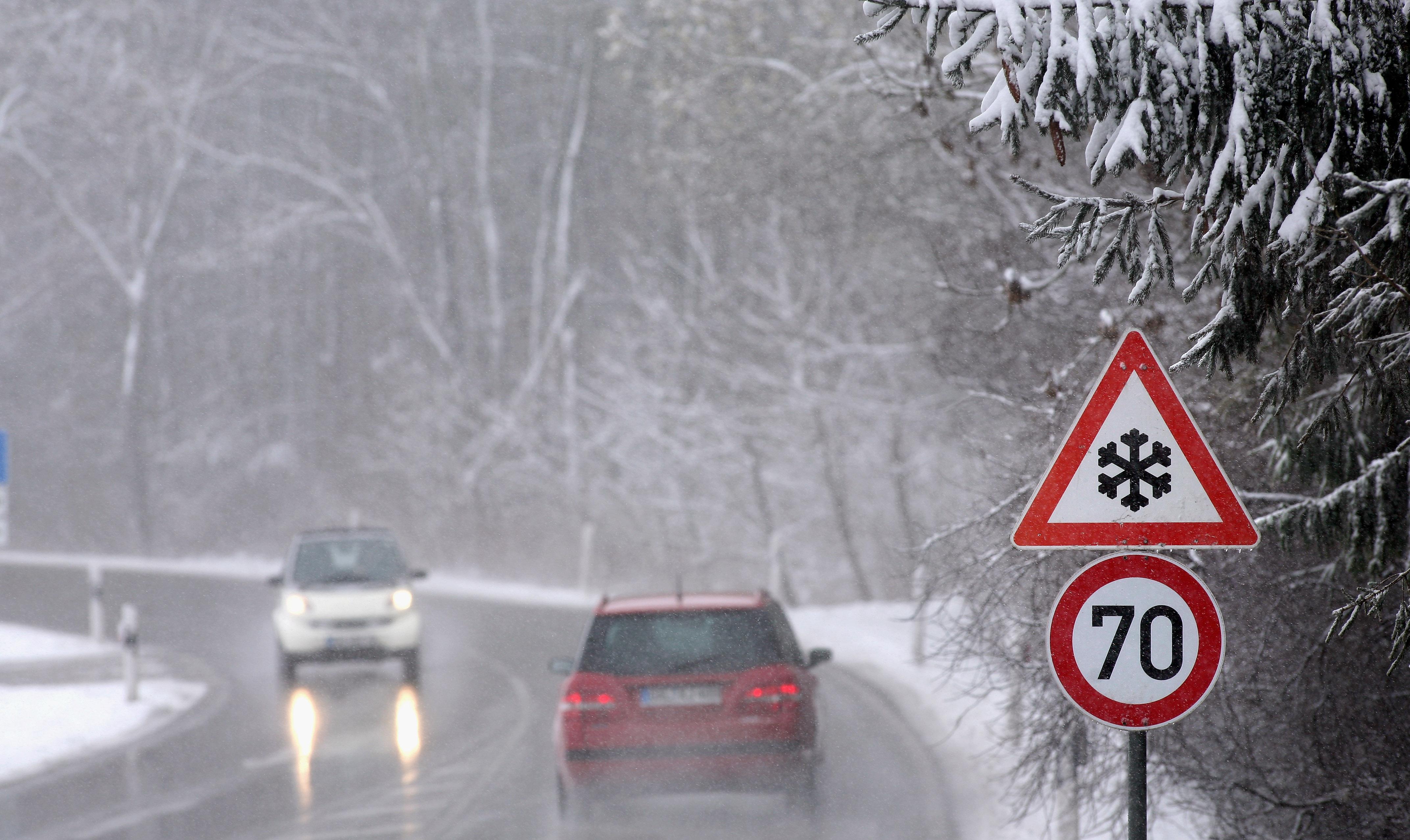 In Val Padana cade la neve. Ma è chimica