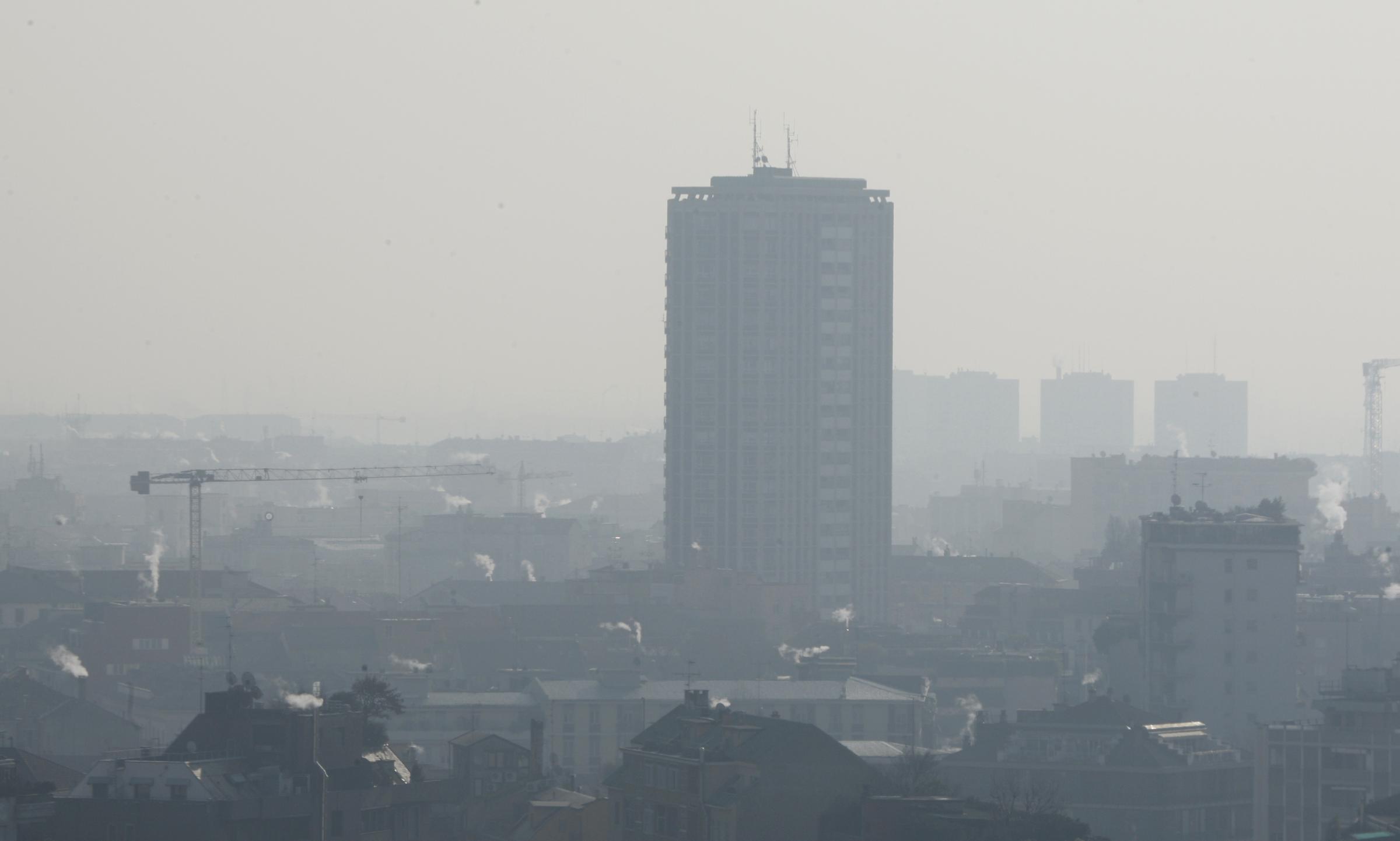 Inquinamento dell'aria, record europeo per la pianura padana