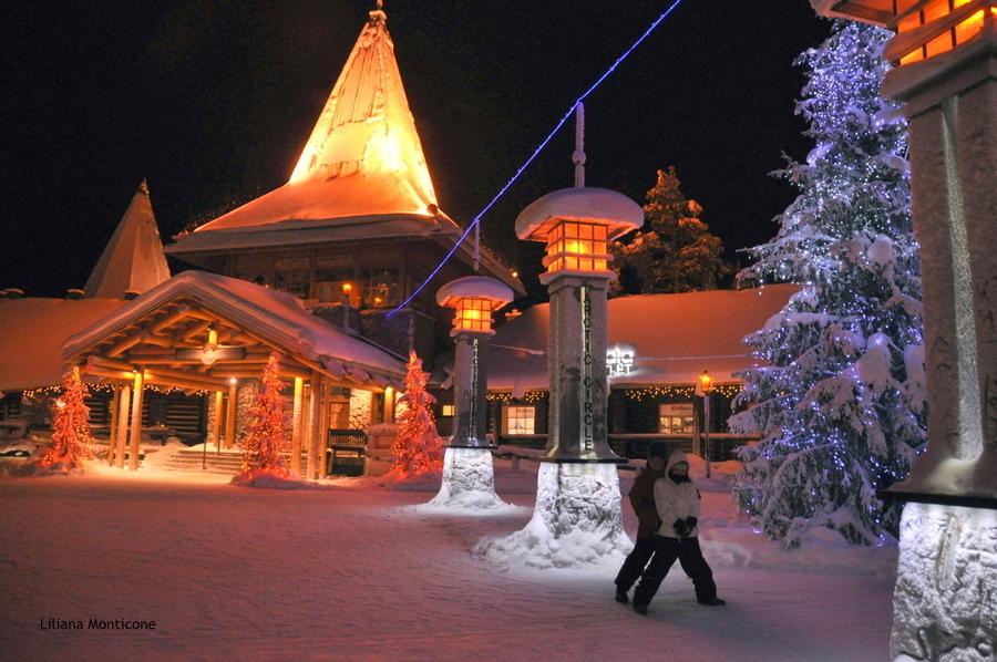 Rovaniemi villaggio di babbo natale