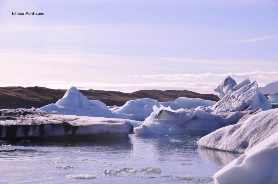 Visitare Jokursarlon iceberg nella laguna più bella d'Islanda mezzo anfibio
