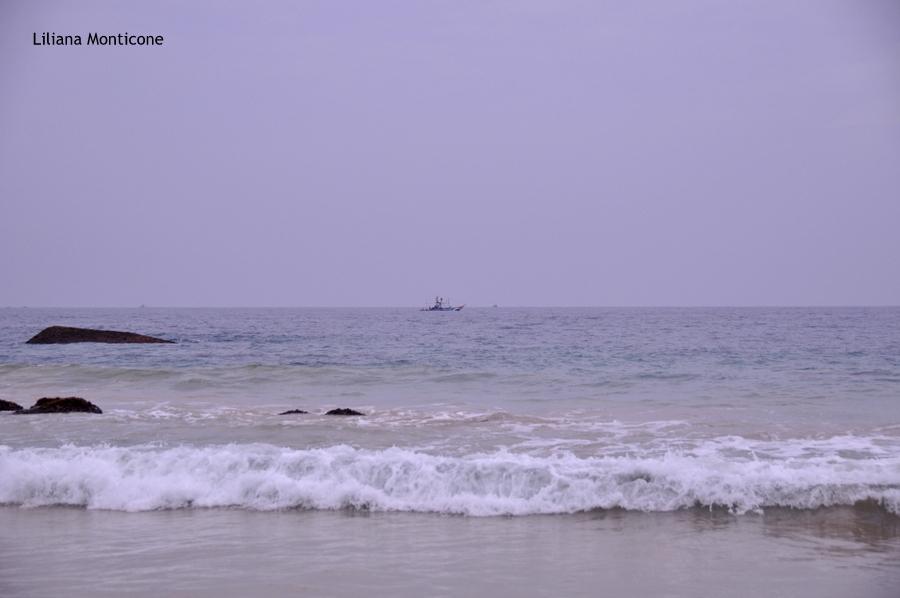 Spiaggia e mare in Sri Lanka Unawatuna Beach